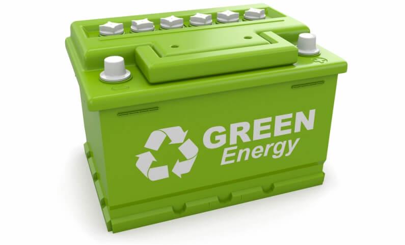 Green Car Battery