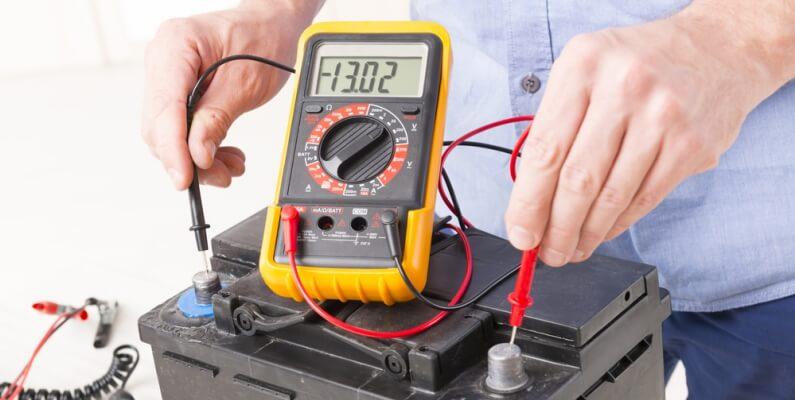 Read Battery Amp Meter